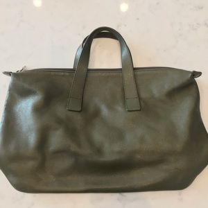 Beautiful olive green Furla purse